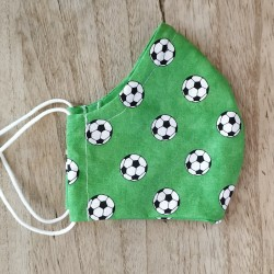 Behelfsmaske Fußball