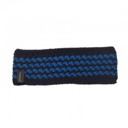 Stirnband blau indigo